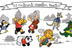 Marathon Beasts Run Throughout All 7 Continents