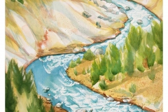 Artist's Point on Yellowstone River